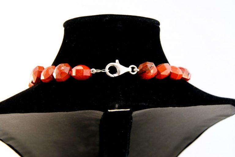 Collar Jaspe Rojo