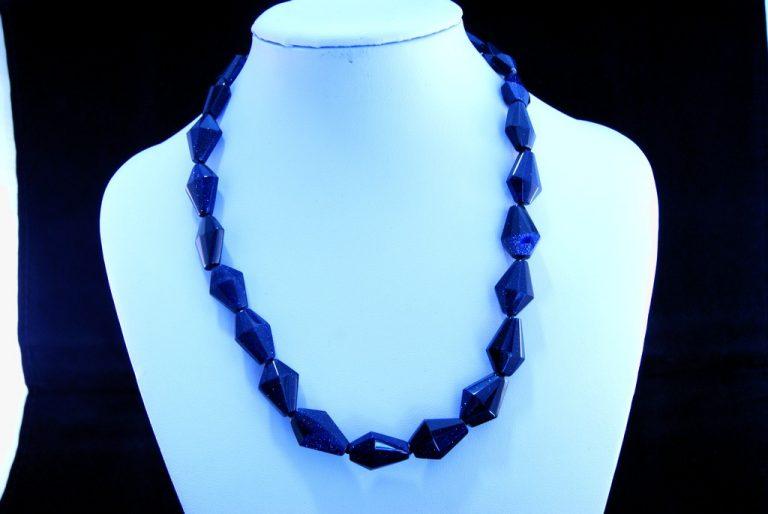 Collar Aventurina Azul