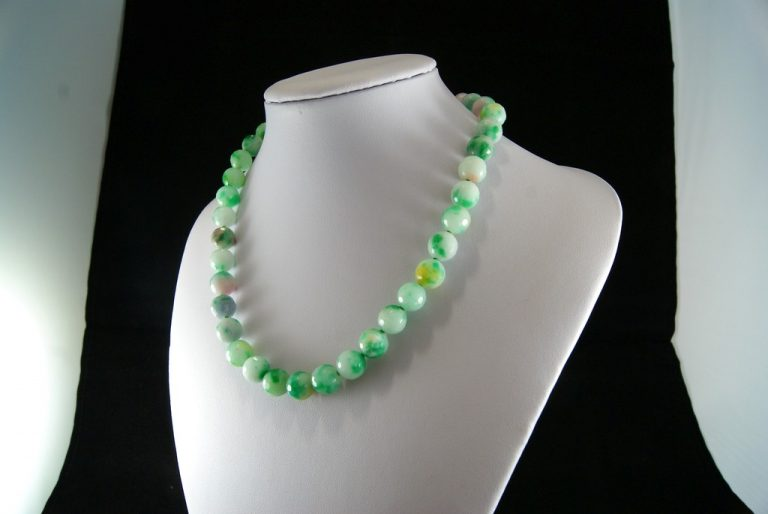 Collar Agata Verde