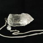 Péndulo de Cuarzo Cristal de Roca