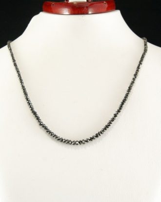 Collar Diamantes Negros