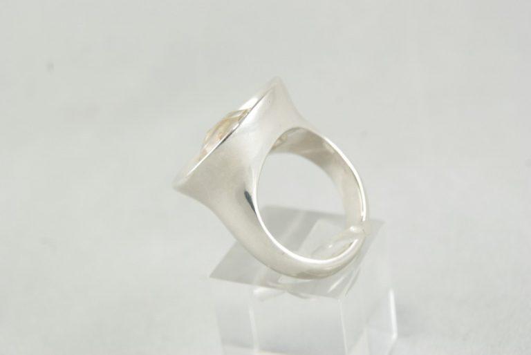 Anillo Cuarzo Cristal de Roca