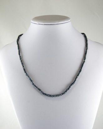 Collar Espinela Gris