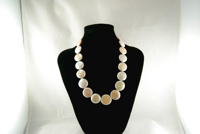 Collar Perlas Coin