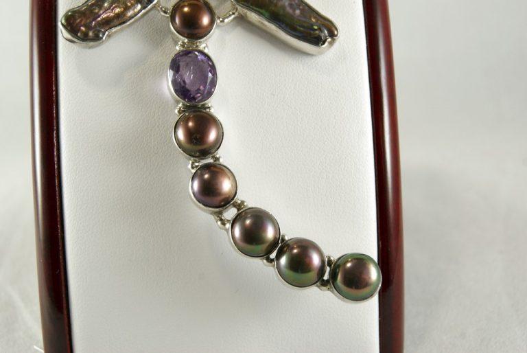 Colgante Perlas