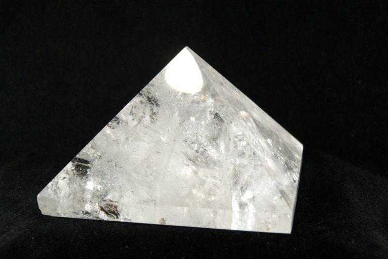 Pirámide de Cuarzo Cristal de Roc