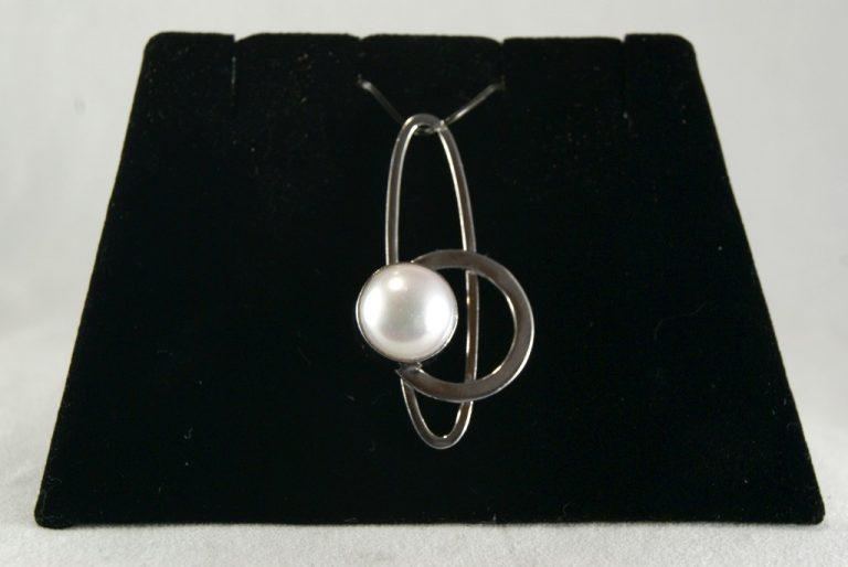 Colgante Plata con Perla