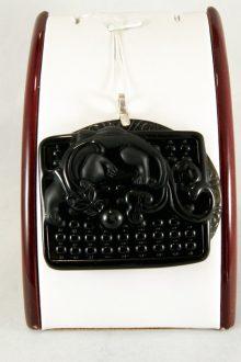 Colgante Obsidiana