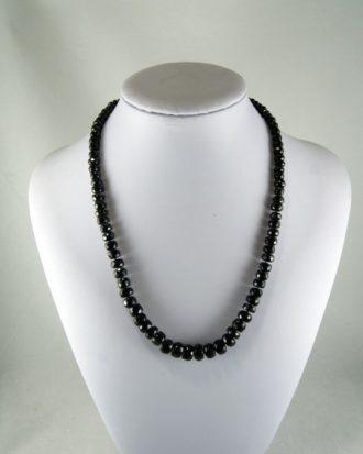 Collar de Turmalina Negra