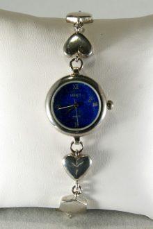 Reloj de Plata con Placa de Lapislázuli