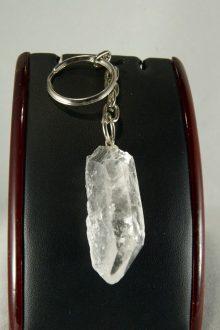 Llavero de Cuarzo Cristal de Roca