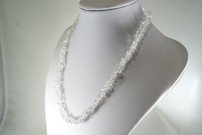 Collar de Cuarzo Herkimer