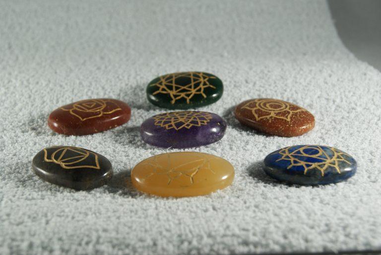 Minerales Chakras con la Simbologia